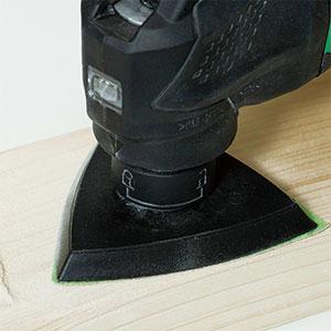 10.8V無繩多功能工具CV12DA應用示例:木材打磨