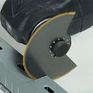 10.8V無繩多功能工具CV12DA應用示例:切割軟樹脂