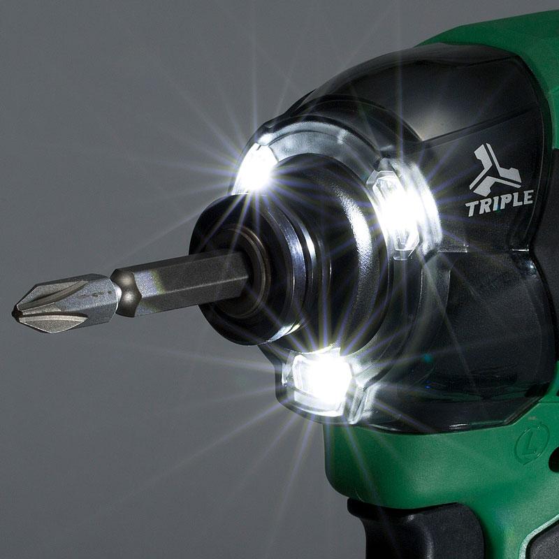 LEDライト点灯イメージ